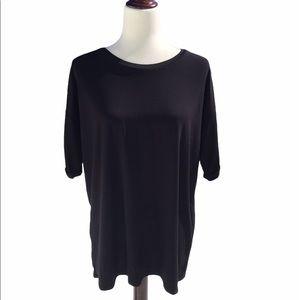 BooHoo Oversized Black T - Shirt